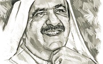 الصورة: الصورة: مراثي الشعراء تعدد مناقب حمدان بن راشد