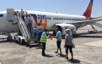 الصورة: الصورة: «فلاي إيجيبت» تدشن رحلاتها لمطار رأس الخيمة 2 مايو المقبل