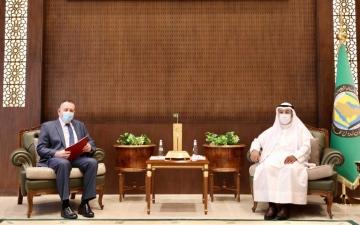 """الصورة: الصورة: """"التعاون الخليجي"""" يعرب عن حرصه على تعزيز العلاقات مع روسيا"""