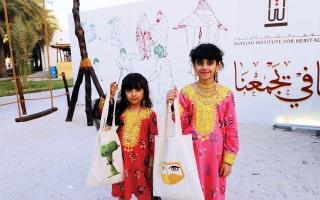 الصورة: الصورة: «حق الليلة» يلوِّن ساحات «أيام الشارقة التراثية»