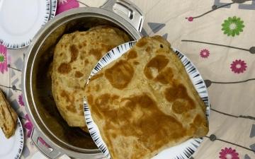 الصورة: الصورة: «المجسف»..خبز تقليدي صحي وبسيط