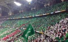 الصورة: الصورة: السماح بحضور جماهيري 40% في مباراة السعودية وفلسطين