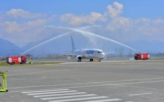 الصورة: الصورة: فلاي دبي إلى العاصمة الألبانية تيرانا
