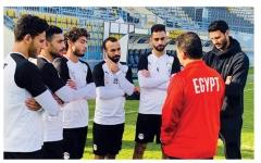 الصورة: الصورة: التصريحات التلفزيونية تُعاقب لاعبي مصر