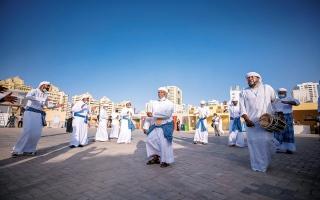 الصورة: الصورة: الأنديما.. رقصة تسرد إيقاع البحر
