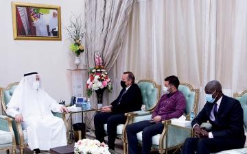 الصورة: الصورة: الجامعة القاسمية تبحث تعزيز العلاقات الأكاديمية مع كوسوفو