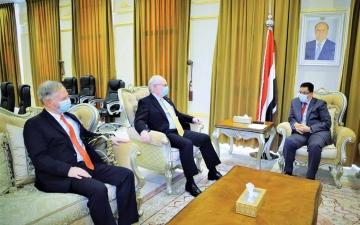 الصورة: الصورة: واشنطن: وقف هجمات الحوثي ضرورة لإنهاء الحرب في اليمن