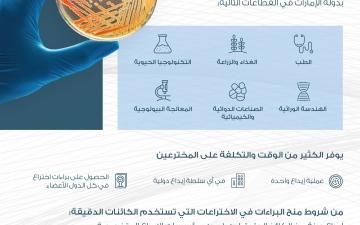 الصورة: الصورة: الإمارات تنضم لمعاهدة بودابست واتفاق ستراسبورغ للتصنيف الدولي لبراءات الاختراع