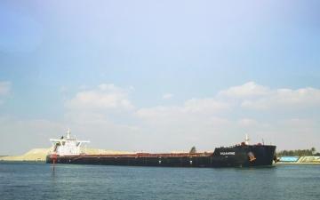 الصورة: الصورة: الإمارات تثمّن جهود مصر  في تعويم السفينة الجانحة