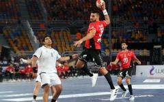 الصورة: الصورة: «يد» مصر تصطدم بالبحرين في الأولمبياد