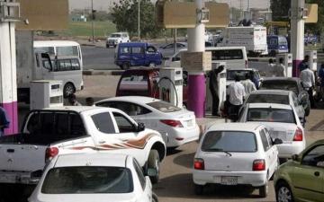 الصورة: الصورة: ارتفاع أسعار الوقود في السودان