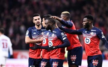 الصورة: الصورة: ليل يصدم سان جيرمان بفوز ثمين وينفرد بصدارة الدوري الفرنسي