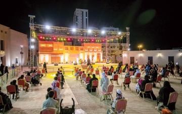 الصورة: الصورة: «الشارقة التراثية» تستقبل 63 ألف زائر في أسبوعها الثاني