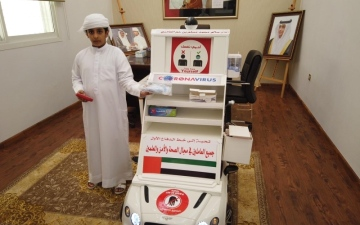 الصورة: الصورة: «المنقذ الذكي» ابتكار ملهم لطالب مواطن