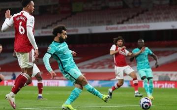 الصورة: الصورة: ليفربول يستعد للريال بثلاثية في شباك أرسنال