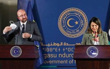 الصورة: الصورة: دعم أوروبي للسلطة الليبية الموحدة