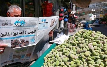 الصورة: الصورة: اصطفاف شعبي أردني حول قيادة الملك عبدالله