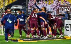 الصورة: الصورة: الفيصلي إلى نهائي كأس خادم الحرمين بفوز على النصر