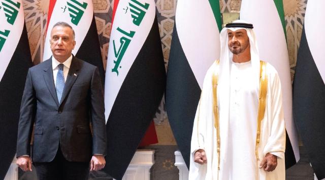 محمد بن زايد: عراقنا غالٍ على قلوبنا والإمارات دائماً إلى جانبه