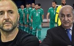 الصورة: الصورة: الرئيس الجزائري: بلماضي يقوم بعمل جبار مع المنتخب