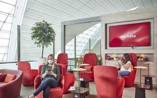 """الصورة: الصورة: """"مرحبا"""" تطلق تجربة جديدة لصالتها في مطار دبي الدولي"""