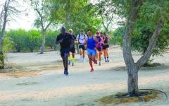 الصورة: الصورة: الإمارات «نبراس الأمل» في يوم الرياضة من أجل التنمية والسلام