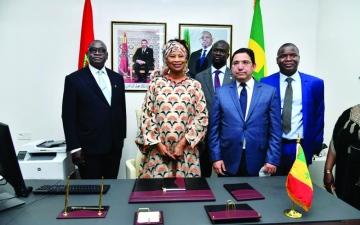 الصورة: الصورة: السنغال تفتتح قنصلية لها في الصحراء المغربية