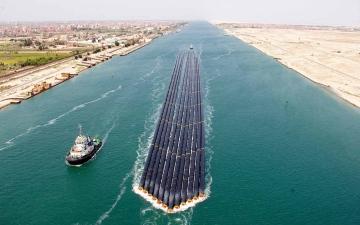 الصورة: الصورة: مصر: العمل على زيادة قدرة قناة السويس لمواجهة حالات الطوارئ