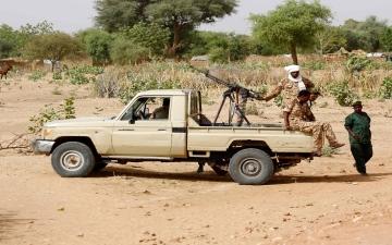 الصورة: الصورة: عشرات القتلى والجرحى في اشتباكات قبلية بدارفور