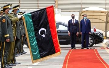 الصورة: الصورة: حراك نشط وإعادة فتح سفارات في ليبيا