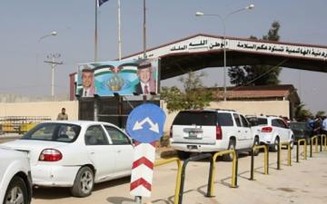 الصورة: الصورة: عودة الحياة لمعابر الأردن- سوريا دونها «قانون قيصر»