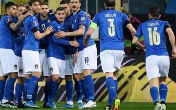 الصورة: الصورة: ارتفاع الإصابات بكورونا في صفوف المنتخب الإيطالي