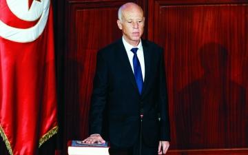 الصورة: الصورة: الرئيس التونسي: لا حوار مع اللصوص وهناك من يريد ضرب المجتمع