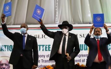 الصورة: الصورة: 25 مايو المقبل انطلاق أولى جلسات التفاوض بين الخرطوم والحلو