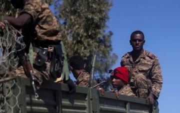 الصورة: الصورة: عشرات القتلى والجرحى باشتباكات عرقية في إثيوبيا