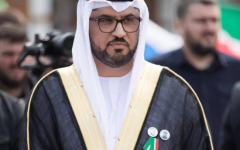الصورة: الصورة: رئيس الشيشان يمنح سفير الإمارات ميدالية الاستحقاق الفيدرالي