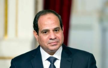 الصورة: الصورة: السيسي: مصر لن تقبل أن تمس نقطة مياه واحدة