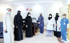 الصورة: الصورة: «الصحة» توفر حقيبة طبية متكاملة لرعاية كبار المواطنين في منازلهم بعجمان