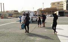 الصورة: الصورة: شرطة رأس الخيمة تنقذ 9 أشخاص من عدة جنسيات علقوا بمنطقة «شحة»