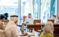 الصورة: الصورة: أحمد بن سعيد: تنظيم استثنائي لأول إكسبو عالمي يقام في المنطقة في موعده وبأعلى المعايير