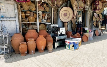 الصورة: الصورة: الصناعات التقليدية تزدهر بزمن الحرب في اليمن