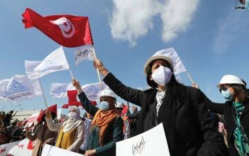 الصورة: الصورة: انسداد سياسي في تونس ولا محكمة دستورية لفض النزاع