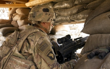 الصورة: الصورة: %60 من قوات التحالف الدولي تغادر العراق