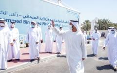 الصورة: الصورة: محمد بن سعود يفتتح مستشفى محمد بن زايد الميداني برأس الخيمة