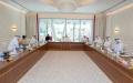 الصورة: الصورة: أحمد بن سعيد في اجتماع اللجنة العليا: تنظيم «إكسبو» استثنائي في موعده بأعلى المعايير