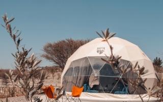 الصورة: الصورة: «دبي القابضة» تعزز تجارب التخييم الفاخر بـ«حتّا دووم بارك»