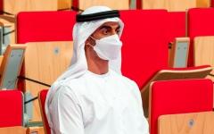 الصورة: الصورة: حمدان بن محمد بن زايد يفتتح «أبوظبي العالمية لمحترفي الجوجيتسو»