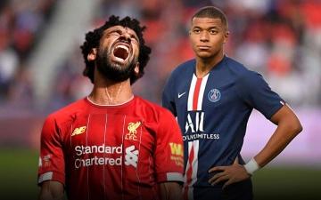 الصورة: الصورة: مبابي يتفوق على محمد صلاح في دوري أبطال أوروبا