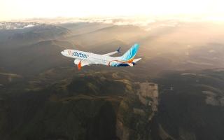 الصورة: الصورة: «فلاي دبي» تشغل أول رحلة بطائرة «بوينغ 737 ماكس»