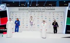 """الصورة: الصورة: 22 ميدالية ملونة لأبطال الإمارات في منافسات المحترفين لـ""""عالمية أبوظبي للجوجيتسو"""""""